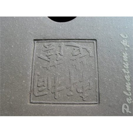 Round unglazed bonsai pot 9cm